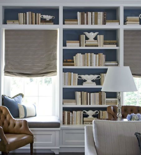 accessorizing interiors with books