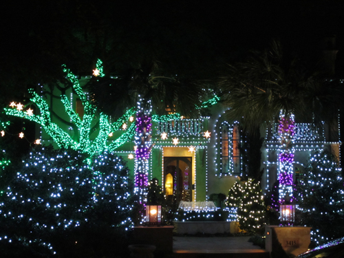 Dallas residential christmas lights