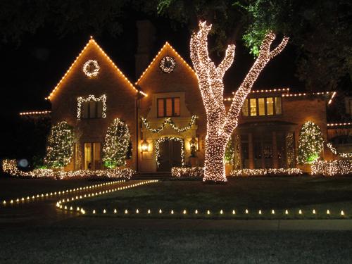 north dallas christmas lights decorators