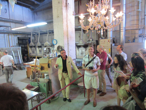 murano italy glass factory tour