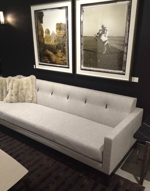 Montgomery Sofa Pulled Back