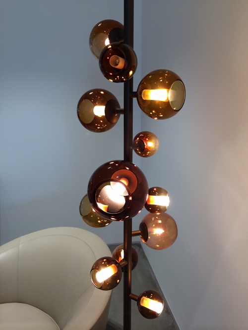 Pouenat-Last Night Totem Floor Lamp