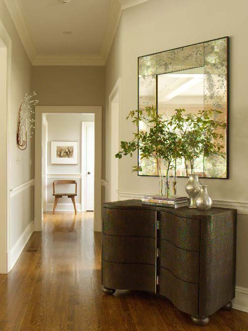 decoration with greenery