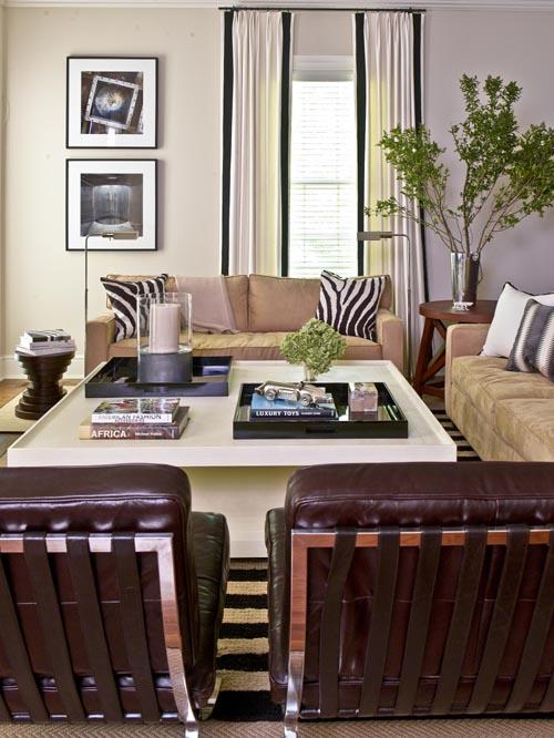 greenery and photos interior design