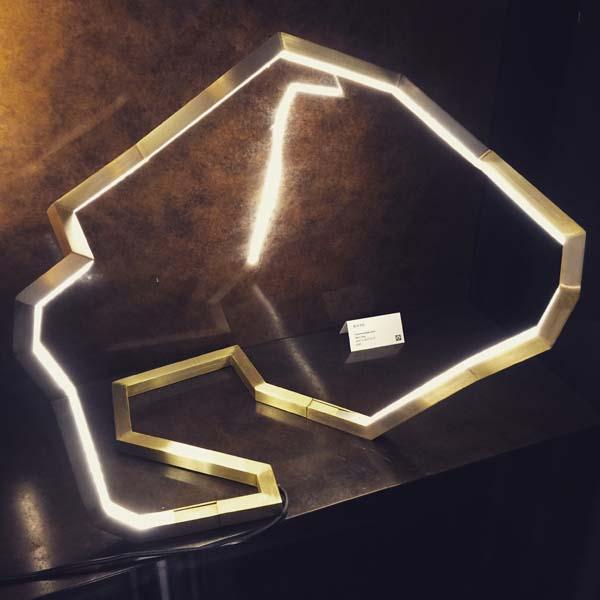 modular LED table lamp